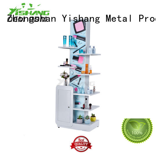 professional makeup shelves rack for cosmetic stores