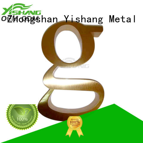 letters large metal letters for sale YISHANG manufacture