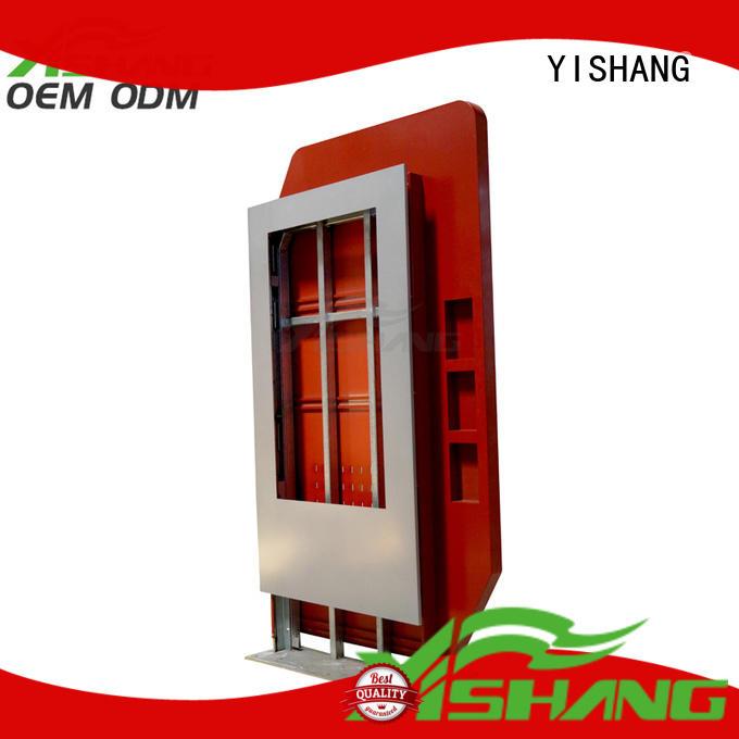 light box display enclosure for plaza YISHANG