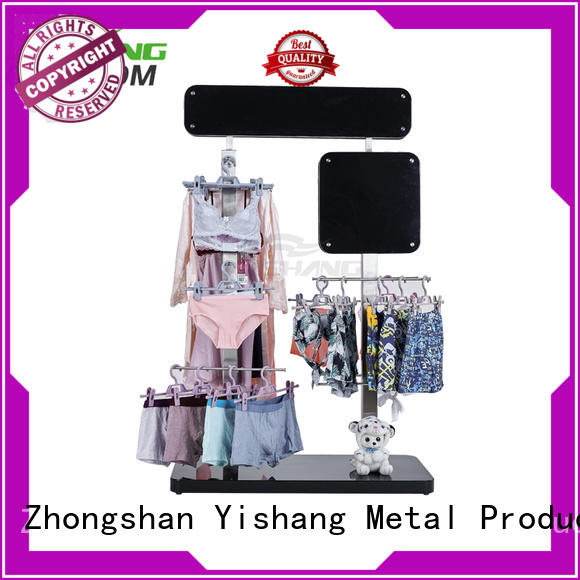 material clothing racks for sale stand mixed YISHANG company