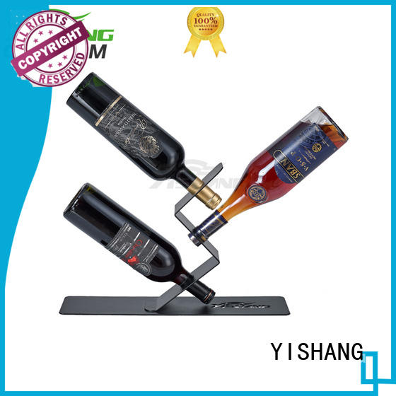 wine display rack tabletop coating YISHANG Brand