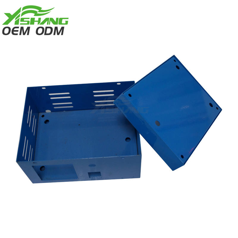 YISHANG -Custom Small Powder Coated Sheet Metal Box Factory Ys-2100098 | Aluminum