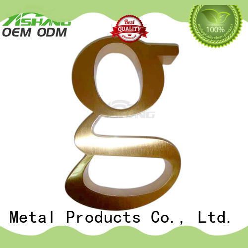 signs large metal letters letter shop YISHANG