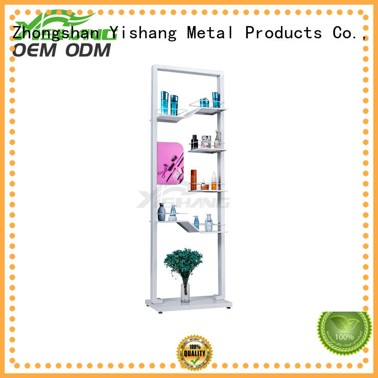 Quality YISHANG Brand makeup display stand ideas
