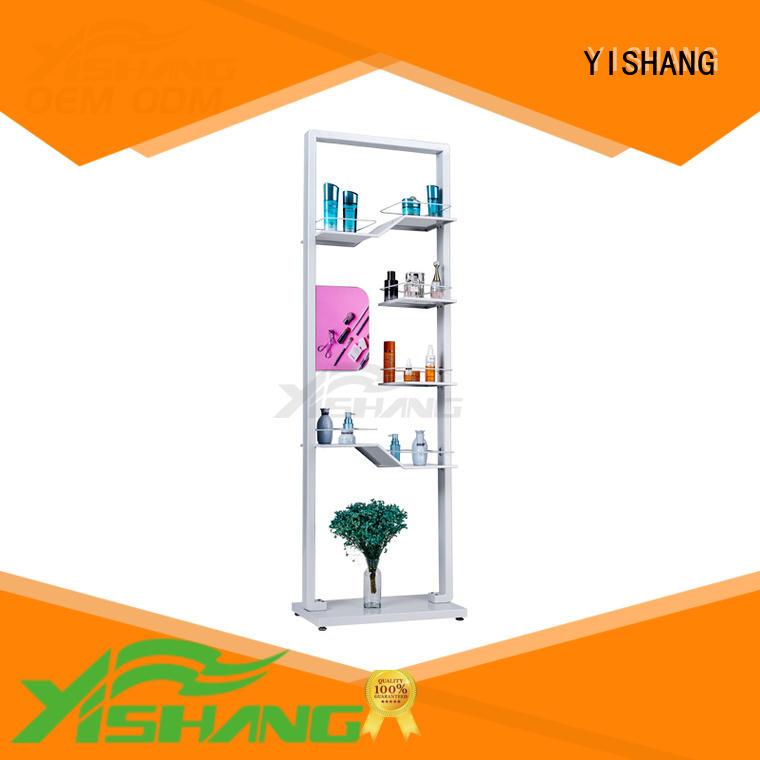 YISHANG Brand display professional shelves custom makeup display stand