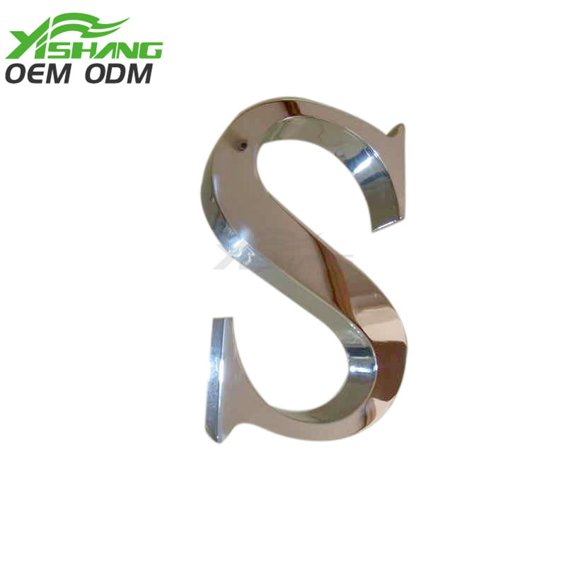 YISHANG -Stainless Steel Custom Metal Letters For Wall Ys-1300005 | Aluminum Letters