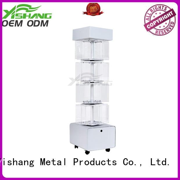 YSIHANG Brand free rotating display stand rotating factory