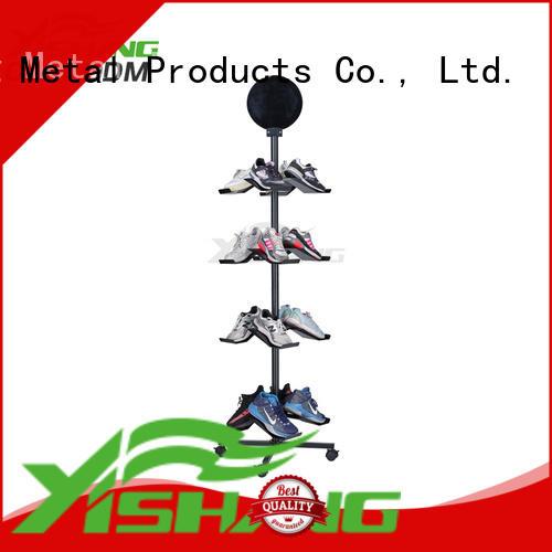 table shoe display rack ideas YISHANG company