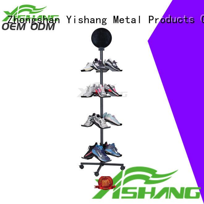counter Custom free shoe display stand YISHANG