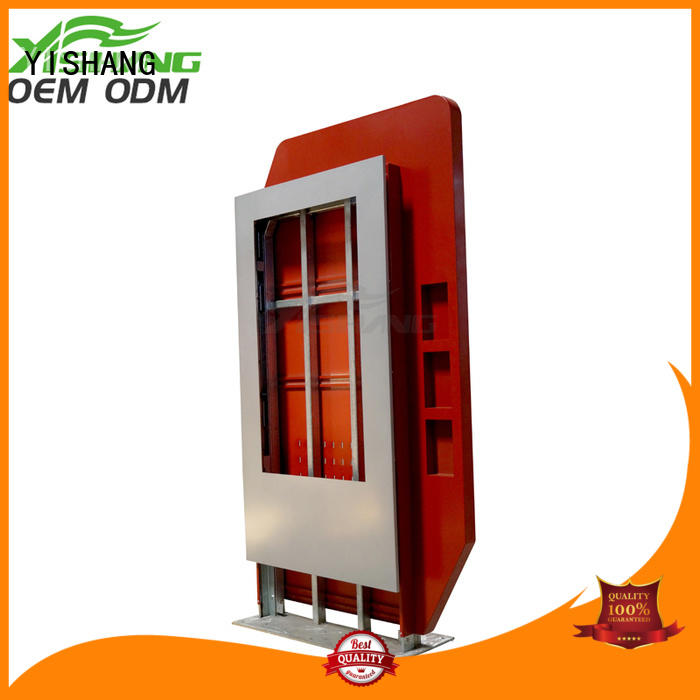 indoor led lightbox enclosure for airport