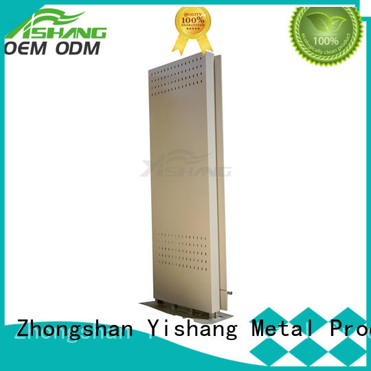 YISHANG indoor led light box white for airport