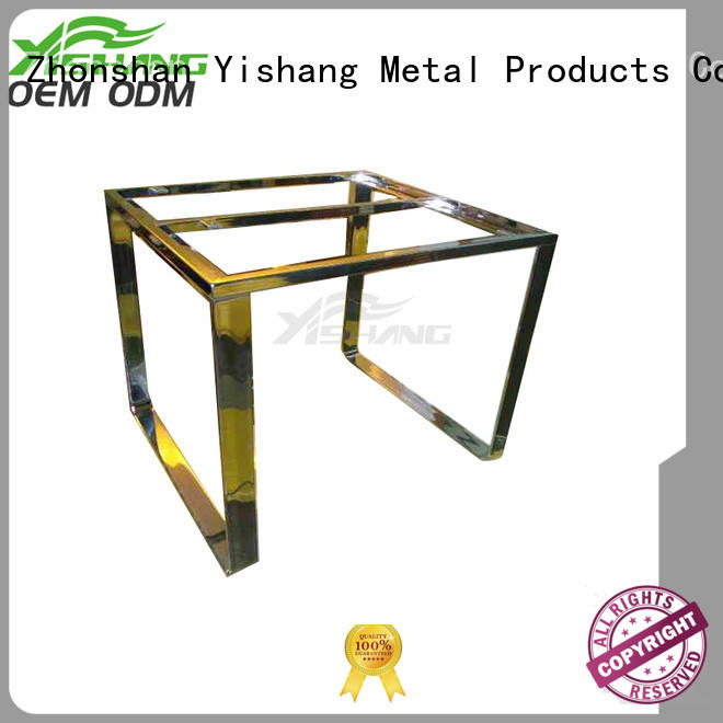 Hot gold custom metal frame welding YSIHANG Brand