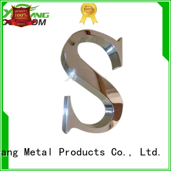custom cut metal signs excellent for wall YISHANG