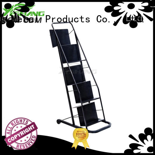 book ys1700031 metal book rack YSIHANG manufacture