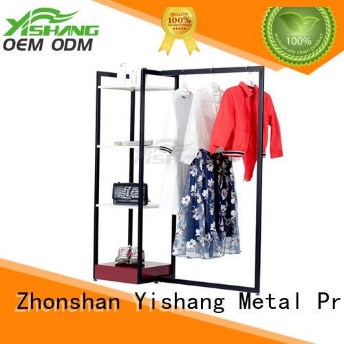 YSIHANG Brand mixed rack stand metal garment rack shops