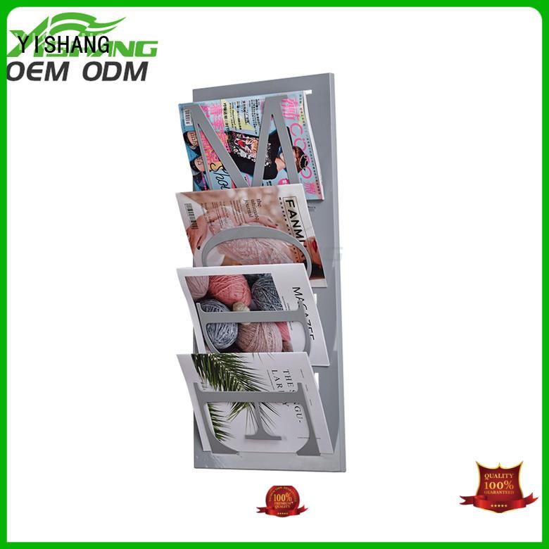 Custom book book display tiers YISHANG