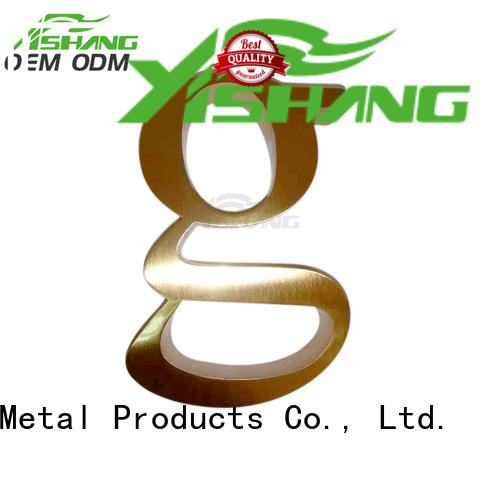 metal metal letters for wall supplier for signs