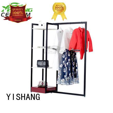 YISHANG high end clothing racks for sale for shop
