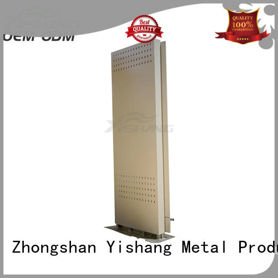 YISHANG metal light box display advertising for airport