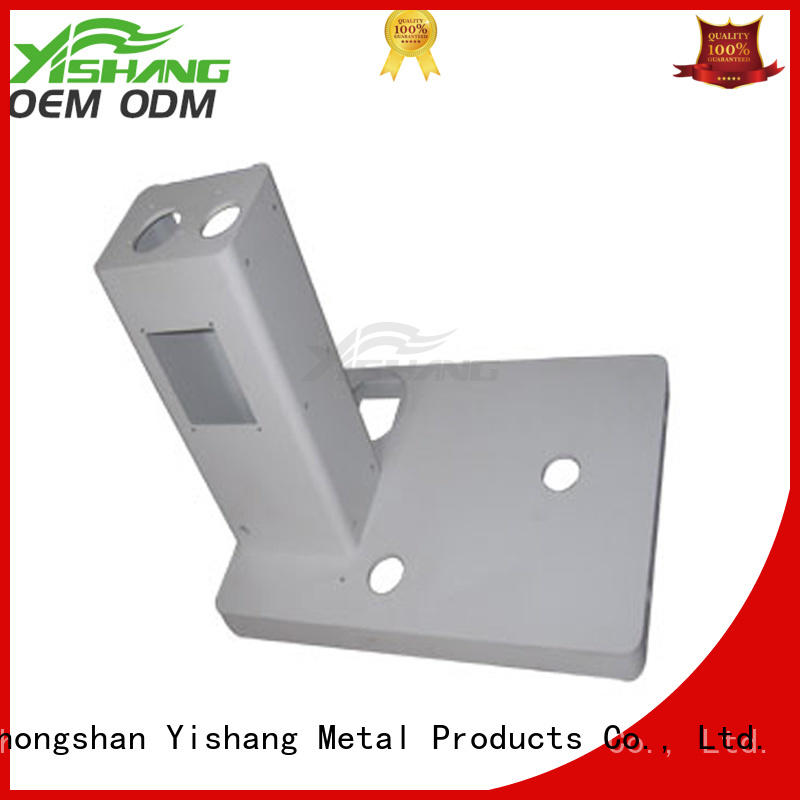custom metal frame fabrication gold welding Warranty YISHANG