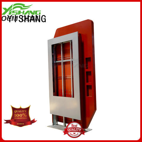 YISHANG custom led lightbox advertising for airport