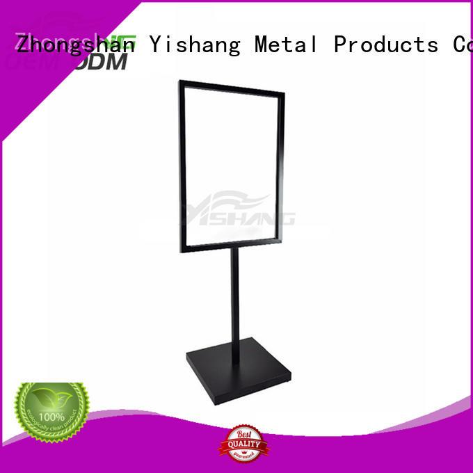 YISHANG sign holder stand online for restaurant
