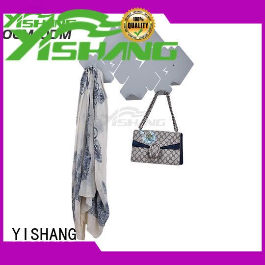 decor Custom shelf shape wall-mounted organizer YISHANG metal