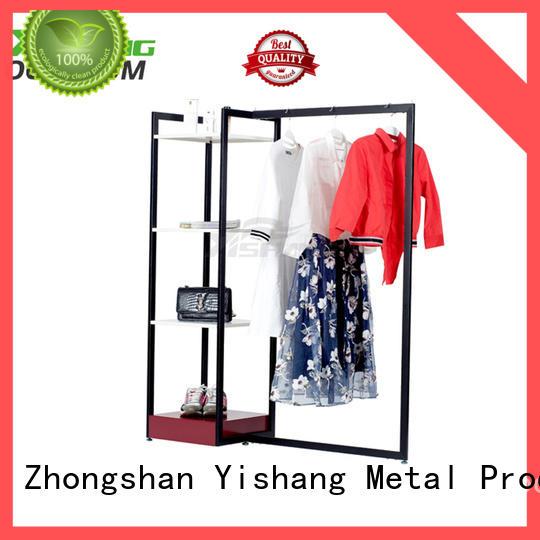 YISHANG retail clothing racks for supermarket