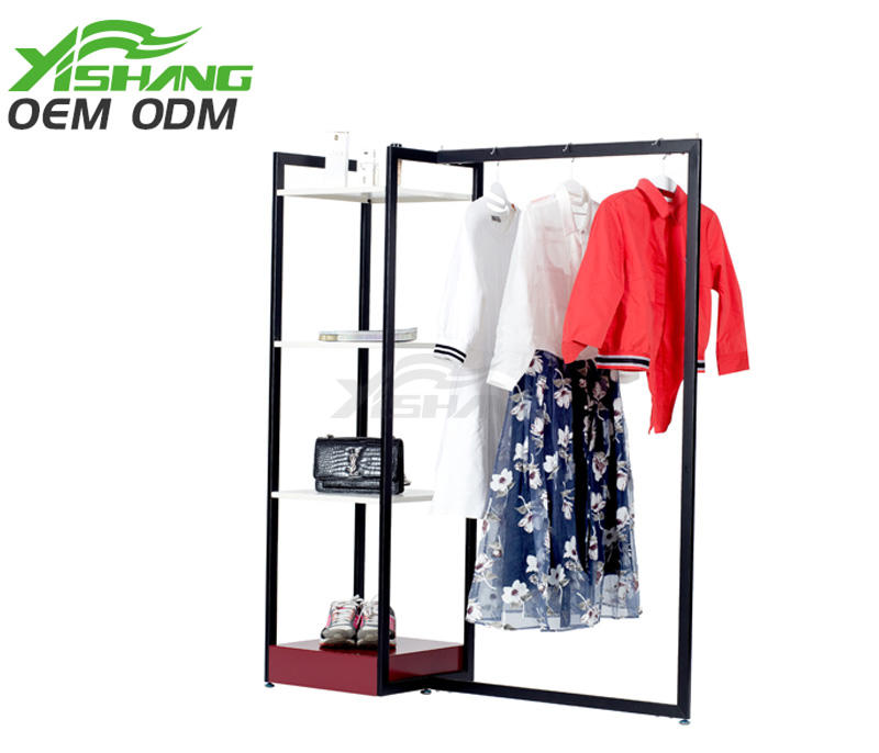 YISHANG -Professional Retail Clothing Racks Metal Garment Rack Manufacture