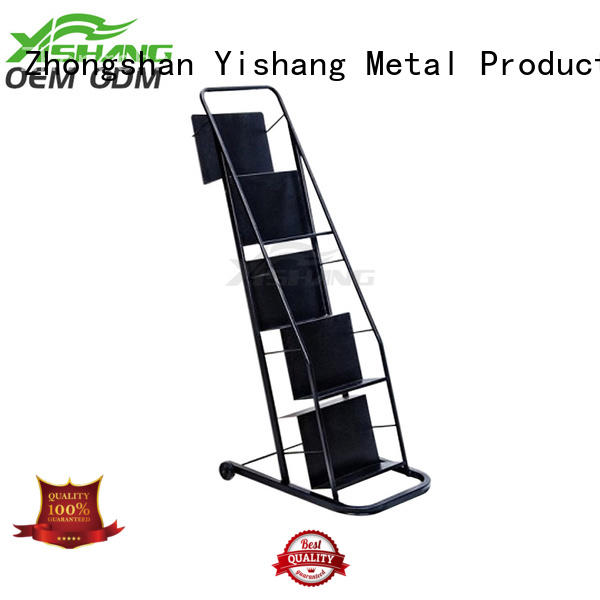 metal book rack rack Bulk Buy wall YISHANG