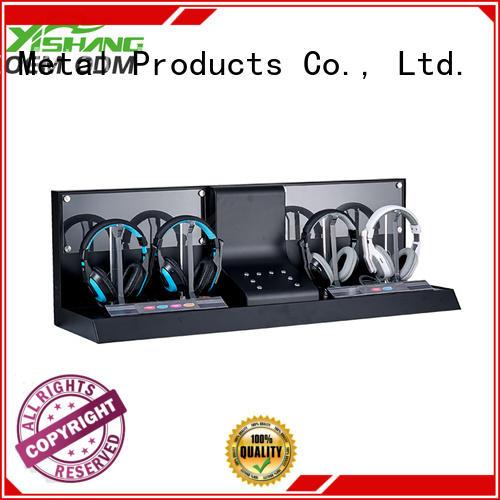 headphone Custom ideas rotating display stand store YISHANG