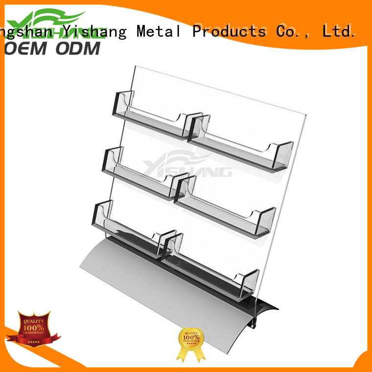 YISHANG card card stand visiting for desk