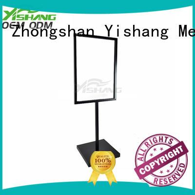 YISHANG Brand display table holders custom advertising display stand