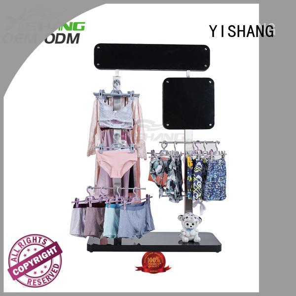 rack metal garment rack clothing YISHANG company