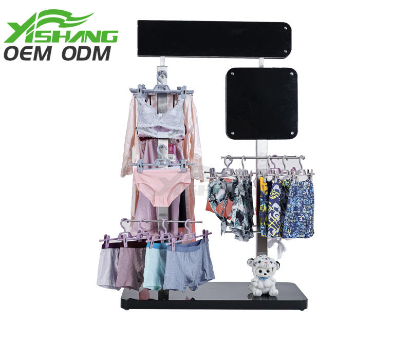 YISHANG -High-quality Clothing Display Stand With Mixed Material Ys-100080 Factory