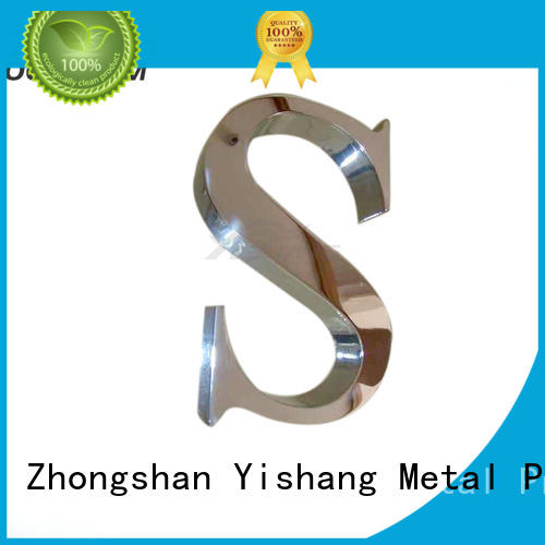 metal letters for wall online for wall YISHANG