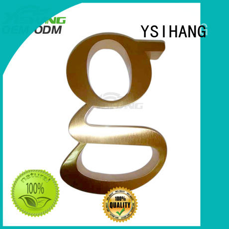 metal letters for sale large wall YSIHANG Brand company