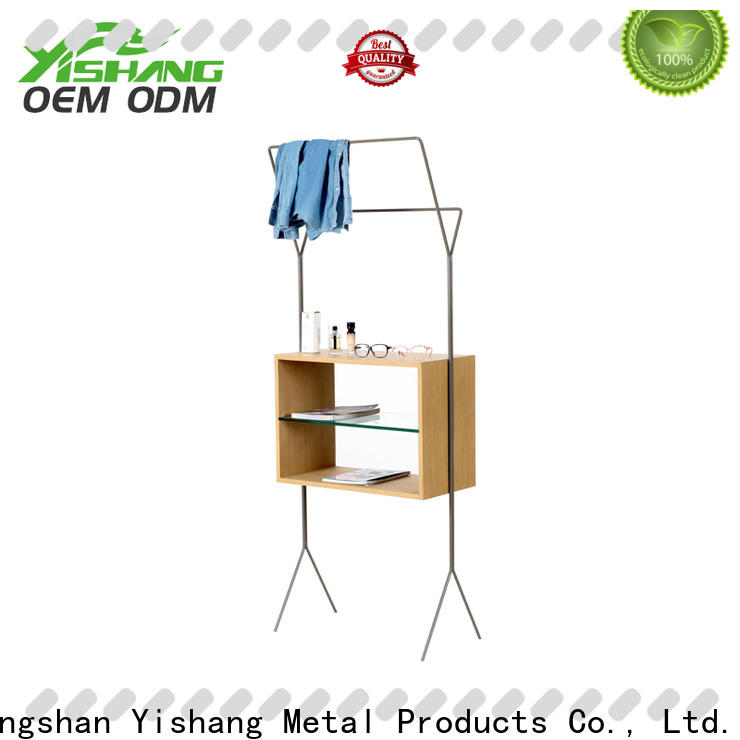 metal clothing display racks online for shopping mall