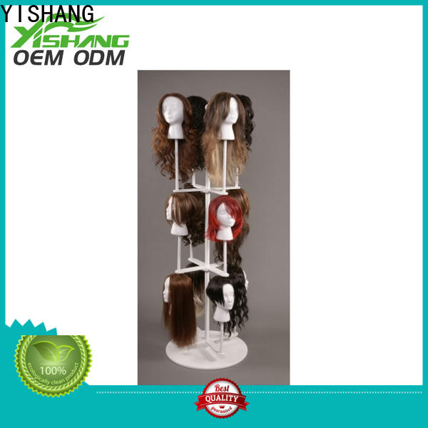 headset rotating display stand tiers for retail stores
