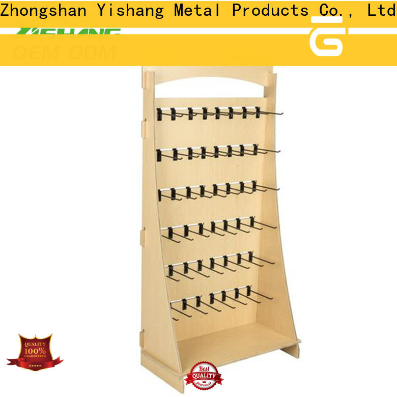 YISHANG pegboard rotating display stand cake for sale
