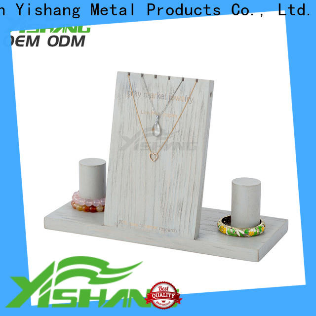 YISHANG jewelry display long for collection