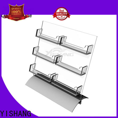YISHANG holder greeting card display manufacturer for office