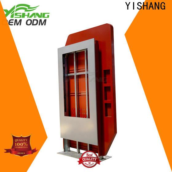 YISHANG custom led light box advertising for plaza