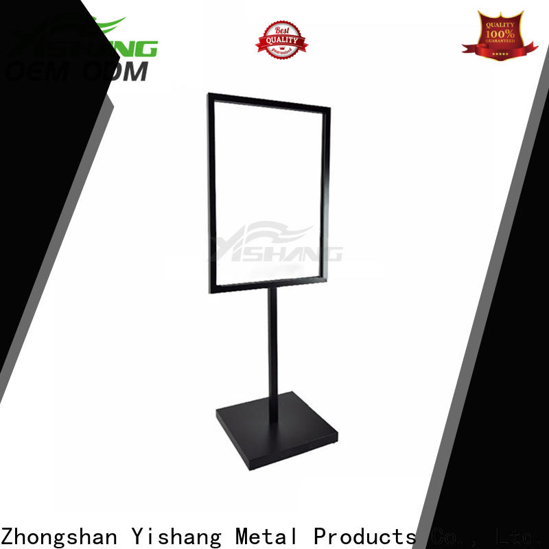 advertising poster stand online for signage companies