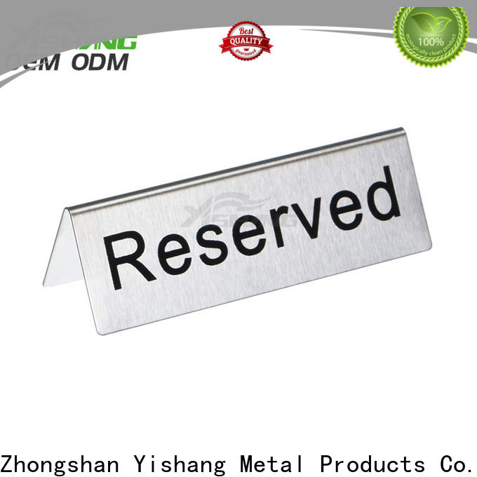 YISHANG stand poster display customization service for sale