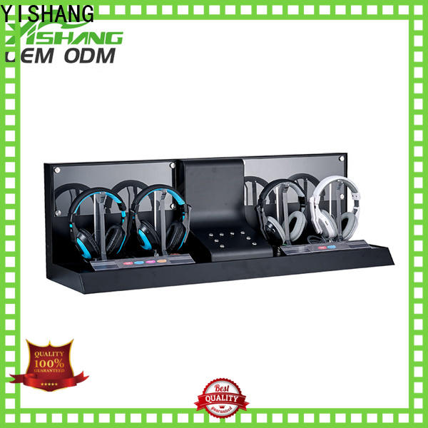 headphone rotating display stand bread for retail stores