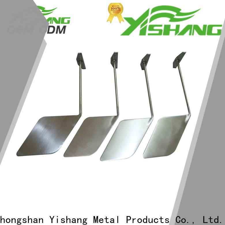 inc custom metal components chromeplated logo