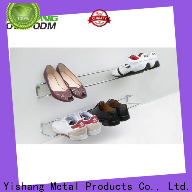 metal shoes display supplier for store