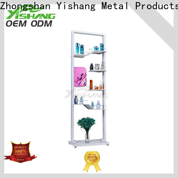 YISHANG metal makeup display acrylic for beauty store