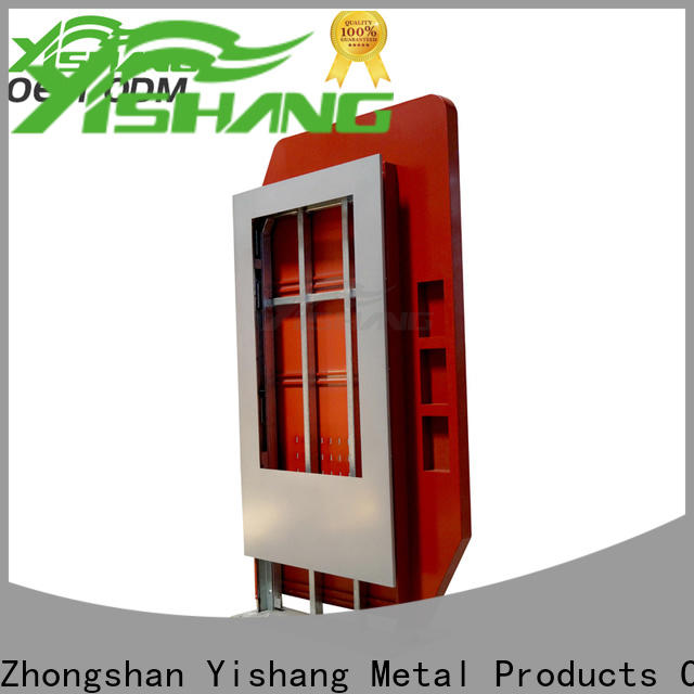 indoor light box display enclosure for shopping mall